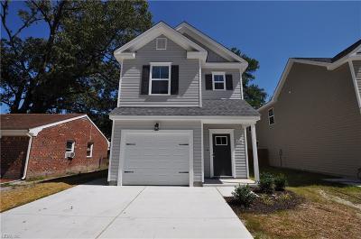 Virginia Beach Single Family Home For Sale: 128 S Thalia Rd