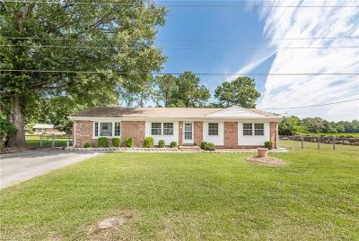 Suffolk Single Family Home New Listing: 1500 Lake Speight Dr