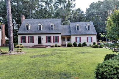 Williamsburg Single Family Home New Listing: 2032 Back River Ln