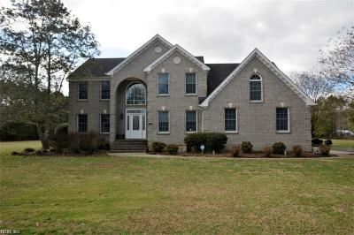 Chesapeake Single Family Home New Listing: 3824 Cypress Mill Rd