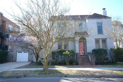 Norfolk Single Family Home For Sale: 1015 Azalea Ct