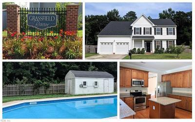 Chesapeake Single Family Home New Listing: 2115 Brennhaven Trl