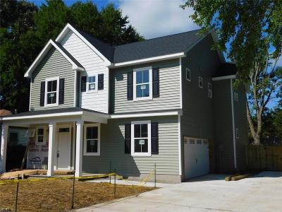 Norfolk Single Family Home For Sale: 2715 Glen Ave