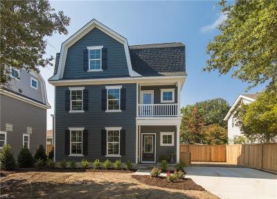 Virginia Beach Single Family Home For Sale: 117 74th St