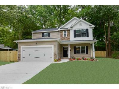 Norfolk Single Family Home New Listing: 2233 Tarrallton Dr