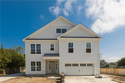 Virginia Beach Single Family Home For Sale: 128 68th St