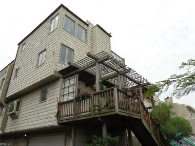 Norfolk Single Family Home New Listing: 1262 W Ocean View Ave #13
