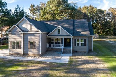 Chesapeake Single Family Home New Listing: Lot 65 Cedar Rd