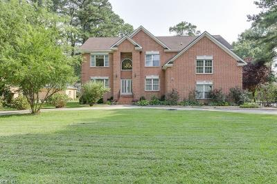 Virginia Beach Single Family Home New Listing: 3437 Green Pine Ln