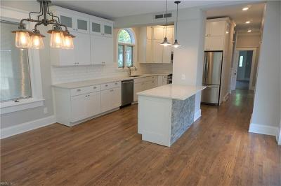 Norfolk Single Family Home New Listing: 1145 Jamestown Cres