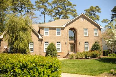 Virginia Beach Single Family Home New Listing: 1517 Chandon Cres