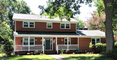Newport News Single Family Home New Listing: 23 Miller Rd