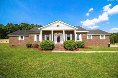 Suffolk Single Family Home New Listing: 3136 Carolina Rd