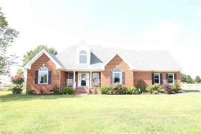 Chesapeake Single Family Home New Listing: 1416 Head Of River Rd