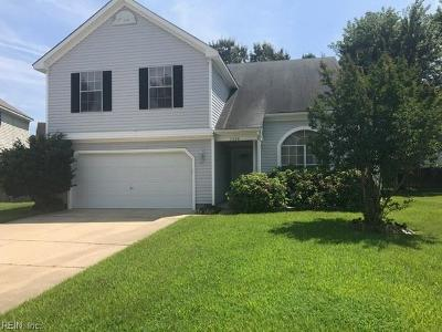 Suffolk Single Family Home New Listing: 3608 Martingale Ct