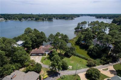 Virginia Beach Single Family Home New Listing: 1505 Quail Point Rd