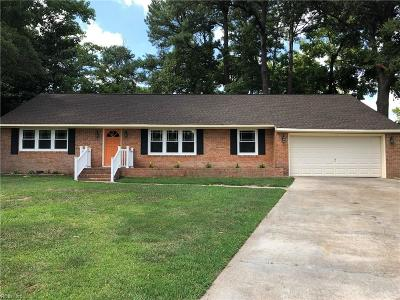 Virginia Beach Single Family Home New Listing: 928 Glenfield Ct