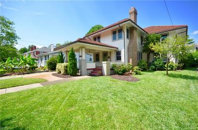 Norfolk Single Family Home New Listing: 1014 Jamestown Cres
