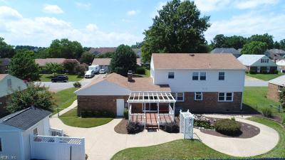 Virginia Beach VA Single Family Home New Listing: $337,500