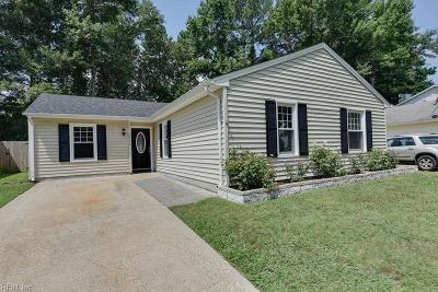 Virginia Beach VA Single Family Home New Listing: $235,000