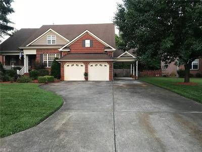 Chesapeake Single Family Home New Listing: 1505 James Lndg