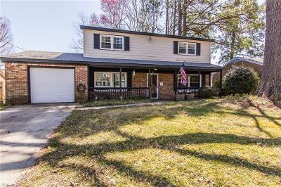 Newport News VA Single Family Home New Listing: $199,900