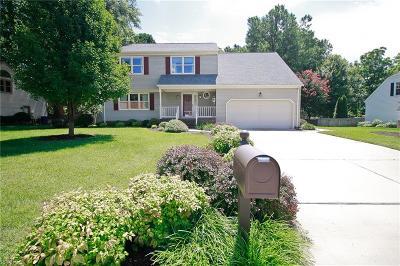 Newport News VA Single Family Home New Listing: $352,100