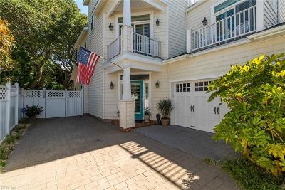 Virginia Beach VA Single Family Home New Listing: $1,195,000