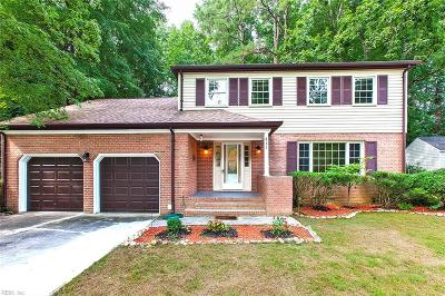 Newport News Single Family Home New Listing: 861 Loraine Dr
