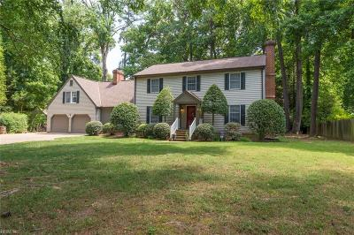 Newport News Single Family Home New Listing: 26 Watergate Ter