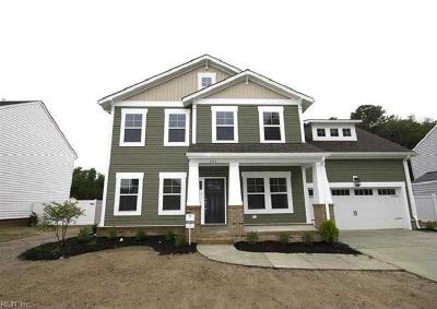 Chesapeake Single Family Home New Listing: 4504 Riding Path Way