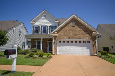 Chesapeake Single Family Home New Listing: 531 Strathmore Ln