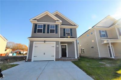 Chesapeake Single Family Home New Listing: 2106 English Ave