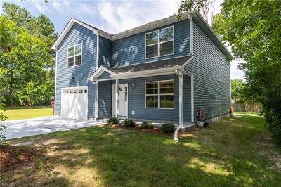 Chesapeake Single Family Home New Listing: 517 George Washington Hwy N