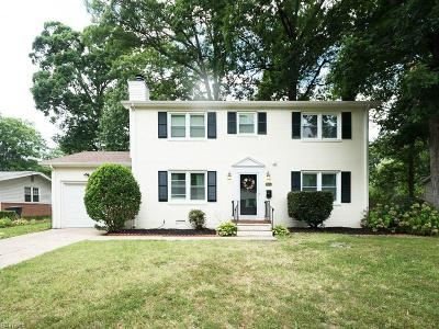 Newport News VA Single Family Home New Listing: $235,000