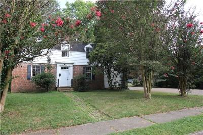 Williamsburg Single Family Home New Listing: 201 Nelson Ave