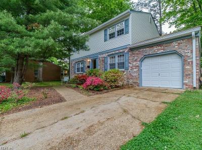 Newport News VA Single Family Home New Listing: $190,000