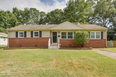 Virginia Beach VA Single Family Home New Listing: $239,900