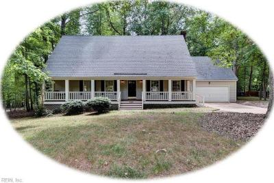 Williamsburg Single Family Home New Listing: 3309 Isle Of Wight Ct