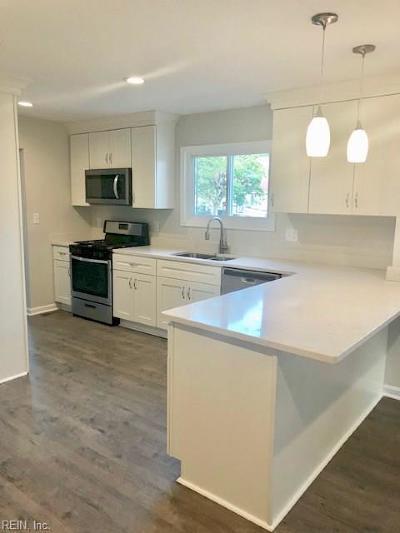 Virginia Beach VA Single Family Home New Listing: $242,900
