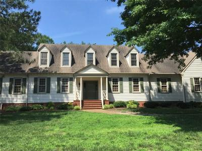Virginia Beach Single Family Home New Listing: 813 Mariposa Ct