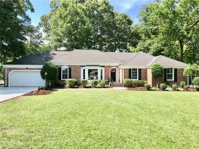 Virginia Beach Single Family Home New Listing: 4749 Red Coat Rd