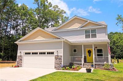 Chesapeake Single Family Home New Listing: 3238 Pioneer Ln