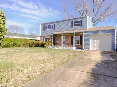Hampton Single Family Home New Listing: 205 Greenwell Dr