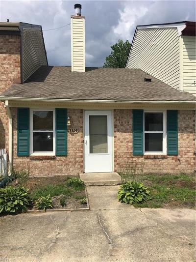 Virginia Beach VA Single Family Home New Listing: $97,000