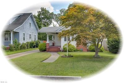 Hampton Single Family Home New Listing: 108 Hollywood Ave