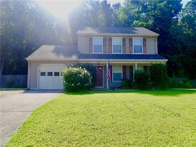 Suffolk Single Family Home New Listing: 834 Haskins Dr