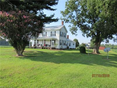 Suffolk Single Family Home New Listing: 7800 Quince Rd