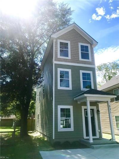 Chesapeake Single Family Home New Listing: 231 Westonia Rd