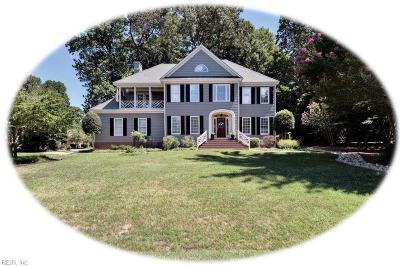 Williamsburg Single Family Home New Listing: 100 Troon